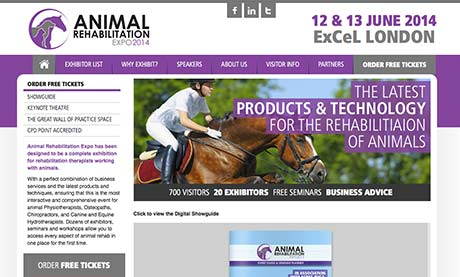 Animal Rehabilitation Expo Logo