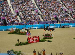 Ben Maher riding Tripple X, Olympic Team Gold Medalist 2012